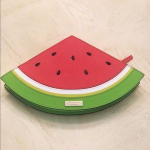 Kate Spade Watermelon Slice Clutch Bag